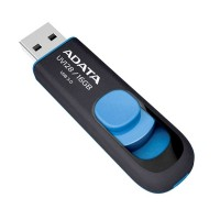 Флеш диск 16GB USB 3.0 A-DATA UV128 черно-синий