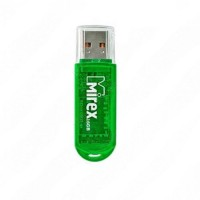 Флеш диск 32GB USB 2.0 Mirex ELF зеленый