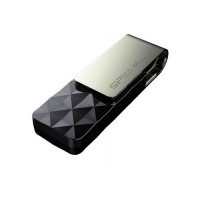 Флеш диск 32GB USB 3.0 Silicon Power Blaze B30, черный